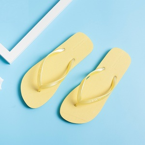 Rubber sandals unisex flip flops thong shoes