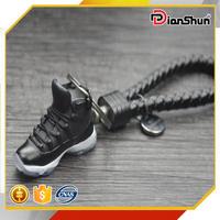3D Air Jordan XI 11 Space Jam Black Blue Sneakers Shoes Keychain