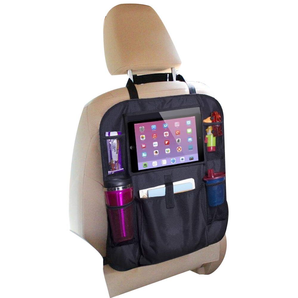Voor Kids Backseat Car Organizer Achterbank Opknoping Bag Kick Mat