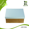 Luxurious color painted custom wooden shoe box