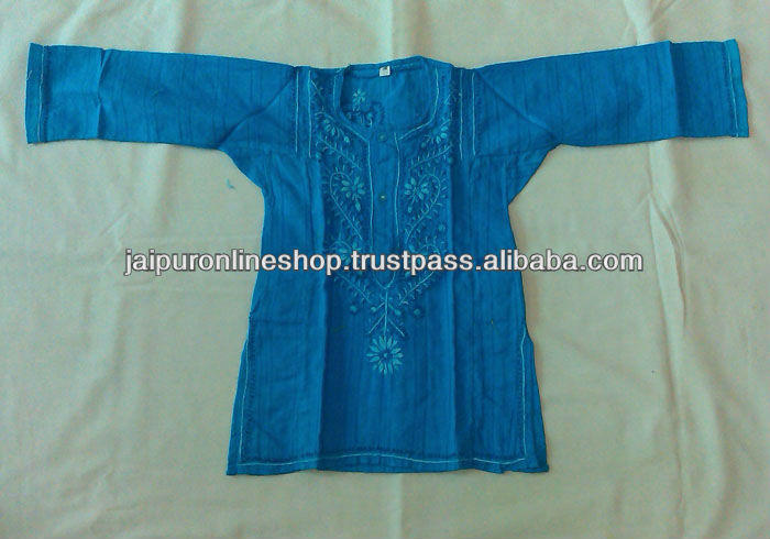 Cotton Kids / Hand Embroidered Tunics