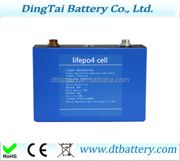 2000 times lifepo4 battery cells with aluminum case 3.2v 100ah power battery cellls for EV battery packs