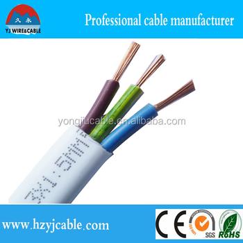 ho5vvh2 f 3 cores flat flexible electric wire copper wire view rh yongjiucable en alibaba com
