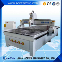 Jinan Acctek Cheap 4 Axis CNC Router for Wood Working Job