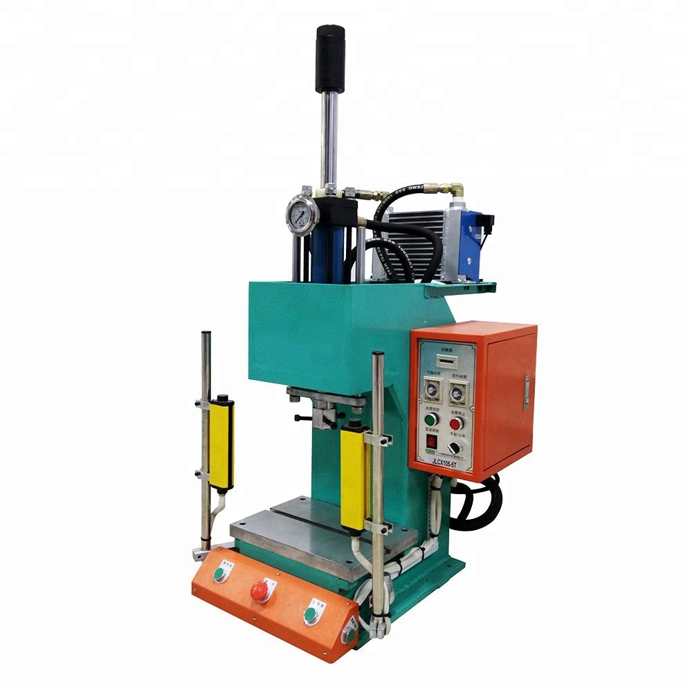 Hot selling JULY new type c frame hydraulic press for auto cable accessories