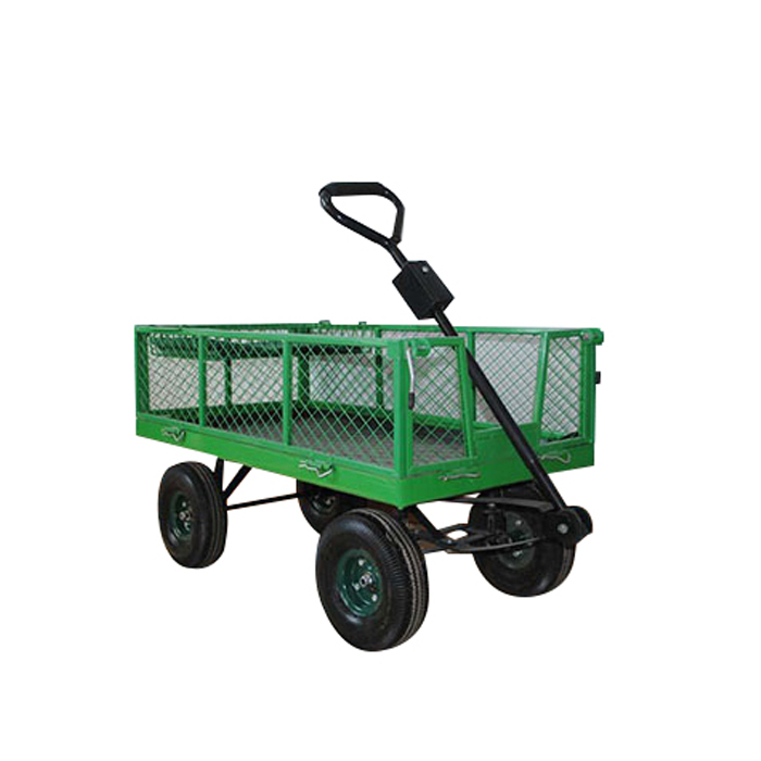 High quality easy moving Garden folding wagon trolley for export