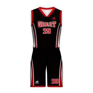 f8fdd056a36d Wholesale Custom Basketball Practice Jerseys Mesh Black And Red Basketball  Jerseys Uniforms For Team Club School