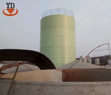 Heating and heat preservation grp prefabricated water storage tank for sewage treatment