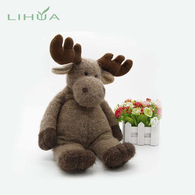 OEM Service Stuffed & Plush China Deer Toy <strong>Animal</strong> Import