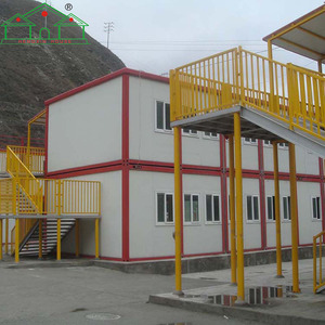 Factory price two storey house shipping container hotel project