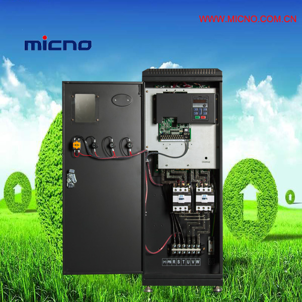 Low power variable speed drive in automation control system
