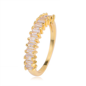 Women accesorios fashion jewelry bulk sale brass engagement rings