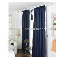 "Top sell W 54"" * L 84"" two panels Microfiber three pass blackout 5 STAR hotel curtain"