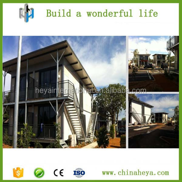 Pre manufactured homes pre made villa pre made houses made in china