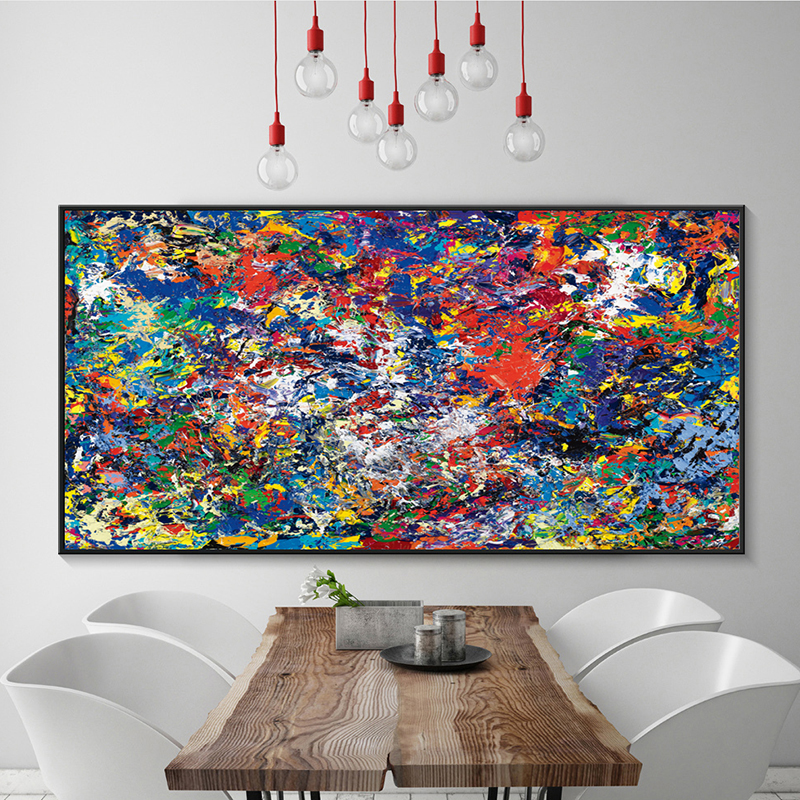 Big Canvas Art Modern Watercolor Abstract Ink Splash Big: Popular Color Splash-Buy Cheap Color Splash Lots From