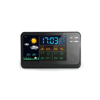 Multifunction Color Display Wireless Wifi Weather Station With App - Buy  Wifi Weather Station,Weather Station Wireless,Weather Station Wifi Product  on