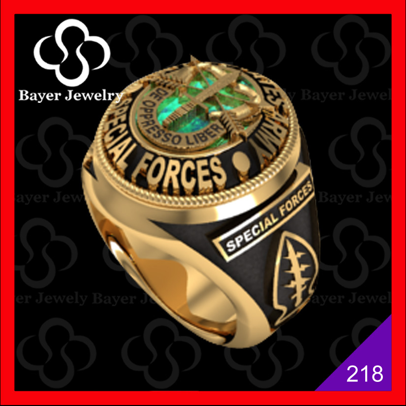 unique custom military rings for mens with good quality and low price
