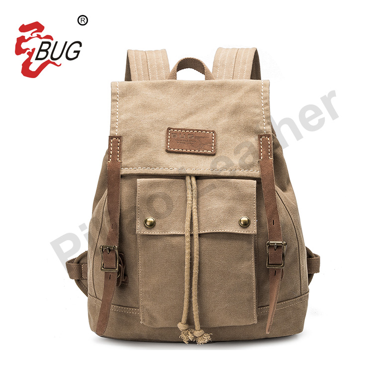 Wholesale Best Price Custom Canvas Leisure Durable Travelling Backpack Manufacturers China