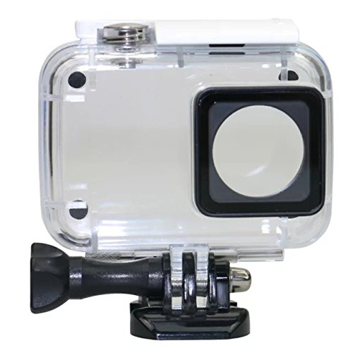 Lantoo Waterproof Protective Housing Case, 45m Underwater Camcorder Dive Shell Housing Case Cover for Xiaomi Yi 4K Yi 2 YI 4K Action Camera(Clear)