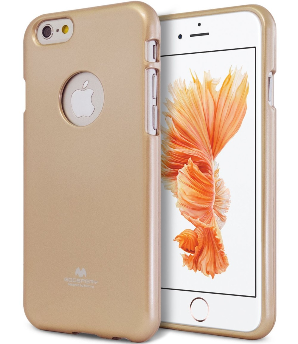 Mercury Goospery Jelly Ultra Thin Case For Iphone 6for 6 6s Fancy Diary Brown Black Crystal Clear 09