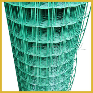 RAL 6009 PVC Coated 6ft Welded Holland Wire Fence 4x4 3x3 2x2 mesh with fence post (Manufacturer,High quality,Low price)