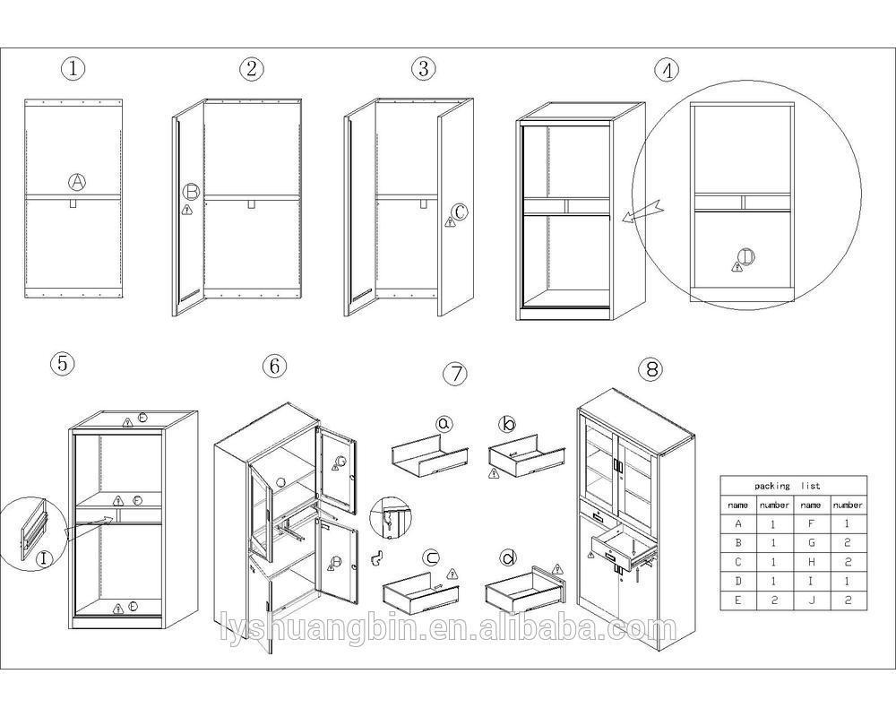 Kd 2 Door Metal Glass Door Medicine Cabinets Steel