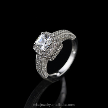 Missjewelry Whole Price 1 Carat Diamond Rings Jewelry 2 Gram Gold Ring For Women