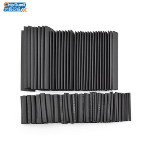 127pcs Heat Shrink Tube Black Wire Wrap Electrical Insulation Cable Sleeving 2-13mm