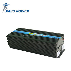 Solar and wind energy system , dc24 to ac 240v 6000w / 6kw pure sine wave solar converter with CE ROHS approved