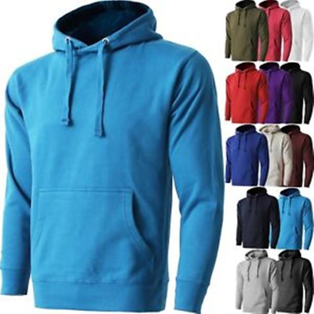 AHD900 Mens Pullover Hoodie Fleece Shirts Hooded Tee Sweatshirt Heavy Casual Fashion фото