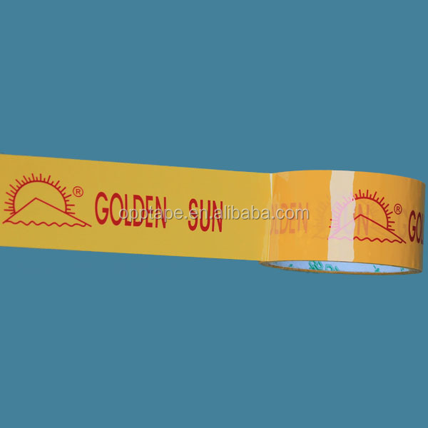 promotional printing carton sealing tape made in china acrylic gule