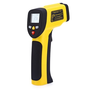 Digital Infrared Temperature Scanner with Automatic Emissivity Compensation