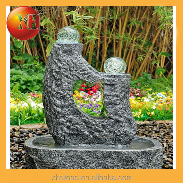 Marble naked lady water fountain supplier in China