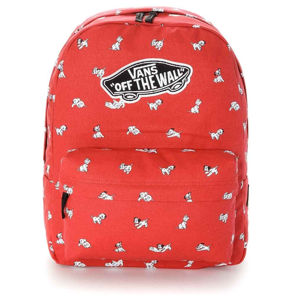Get Quotations · VANS - Vans Womens Backpack - Dalmation - Red - One Size d888f636b9244