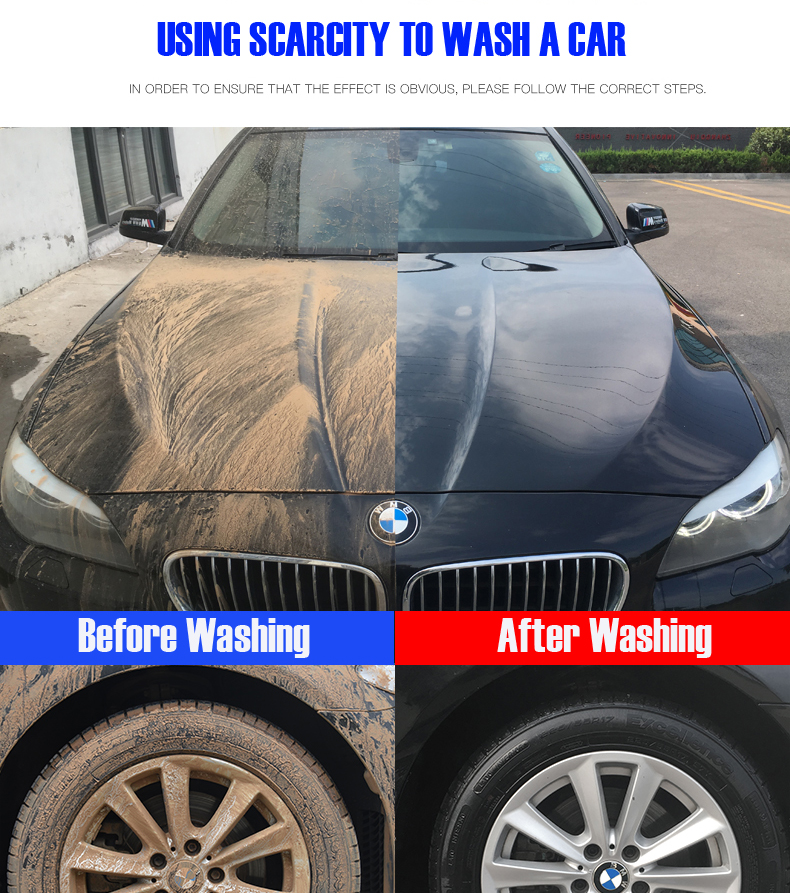 Travel & Roadway Product Automobiles & Motorcycles Multifunctional Profession 100ml Car Cleaning Foam Gun Washing Gun Water Soap Shampoo Sprayer Selling Well All Over The World