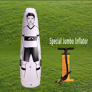 soccer training free kick dummy training mannequin, artificial inflating dummy