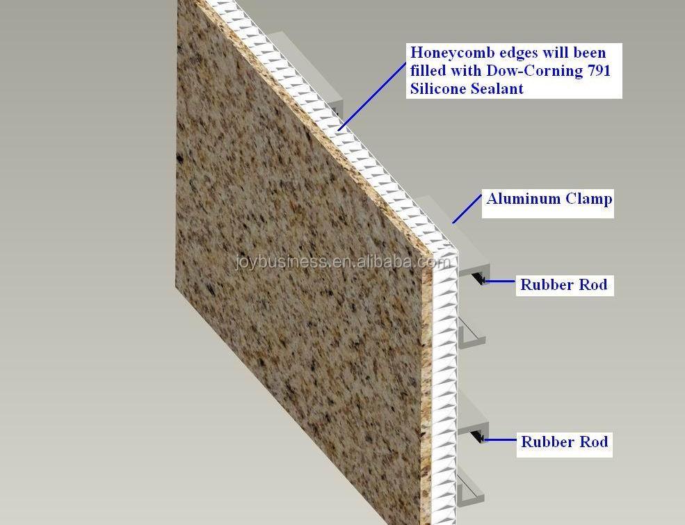 Building Construction Material Aluminium Honeycomb Panel