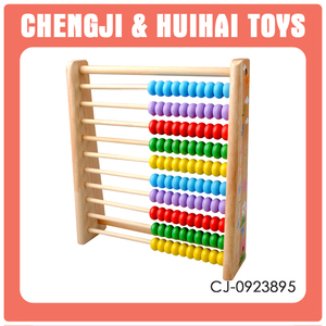 Educational game wooden abacus for children