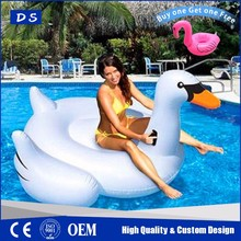 2017 pvc swan pedal boat inflatable swan float add to send flamingo drink holder