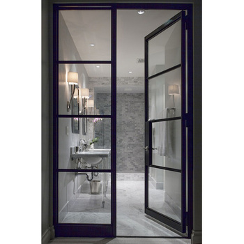 Custom Design Interior French Door Glass Bathroom Entry Doors For Home Buy Glass Bathroom Entry Doorsinterior French Doorscustom Glass Doors