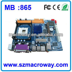 Socket478 Intel 865 motherboard with 2 DDR