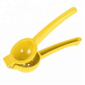 Metal Zinc Alloy Citrus Lemon Lime Squeezer with Powder Coating