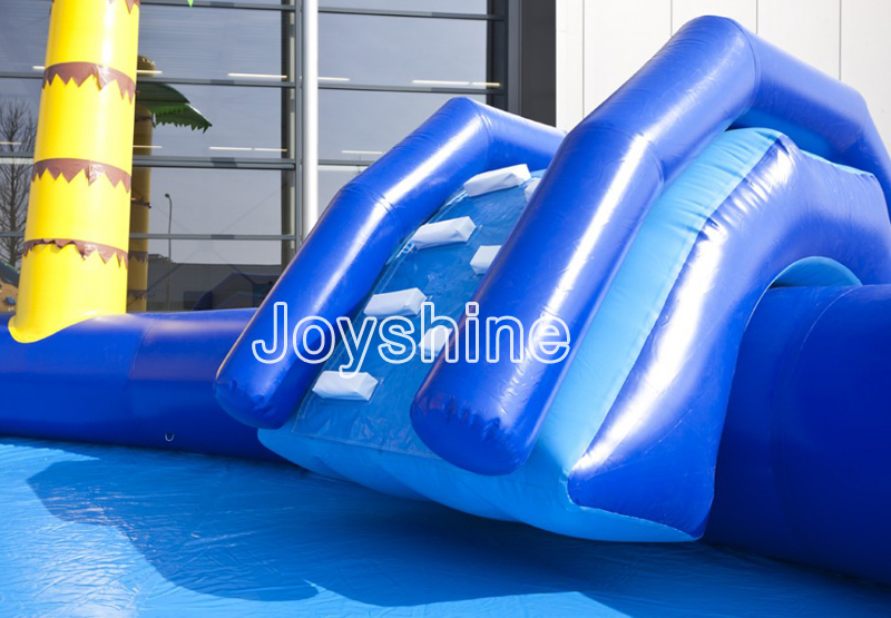 Kids Outdoor Water Amusement Playground Slides Pool Equipment Backyard Used Inflatable Fun Water Park Games On Land