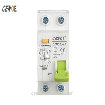 China Good Elcb Plug Electrical Symbol Circuit Breaker Elcb Rcbo Rcb