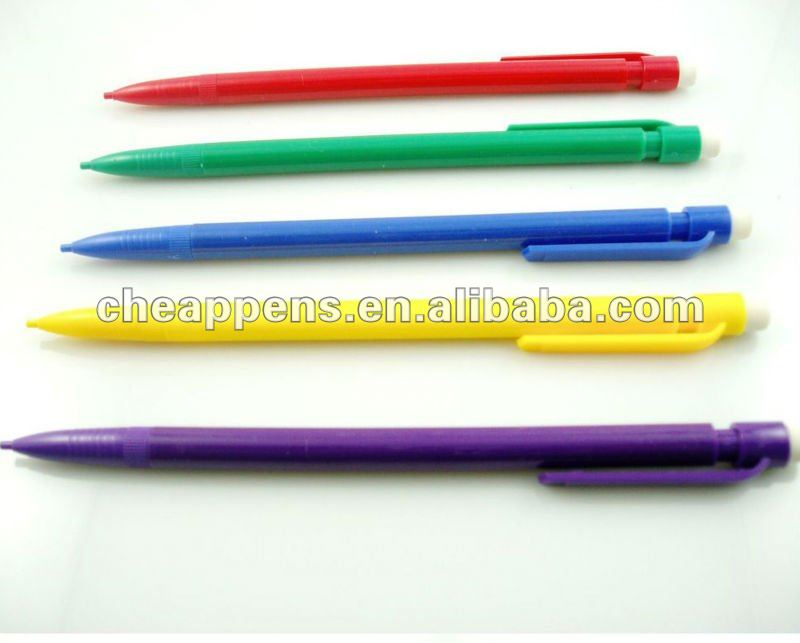 shake style office and school use drawing auto mechanical pencil with eraser