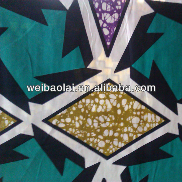African Imitate Wax Prints Fabric