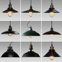 factory price antique Loft Bells style lampshade E27 pendant light FOR home decoration
