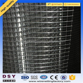 12 Gauge Pvc Coated Galvanized Weld Wire Mesh/protecting Welded Wire ...