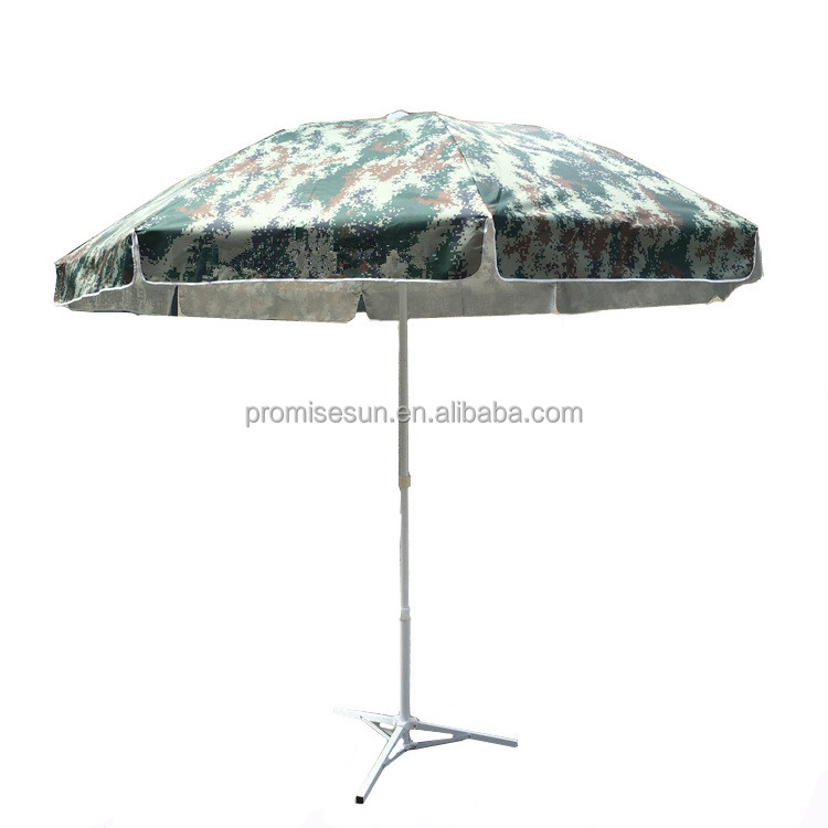 Camouflage Luxury Sunshade Garden Parasol Umbrella Windproof Solar Beach