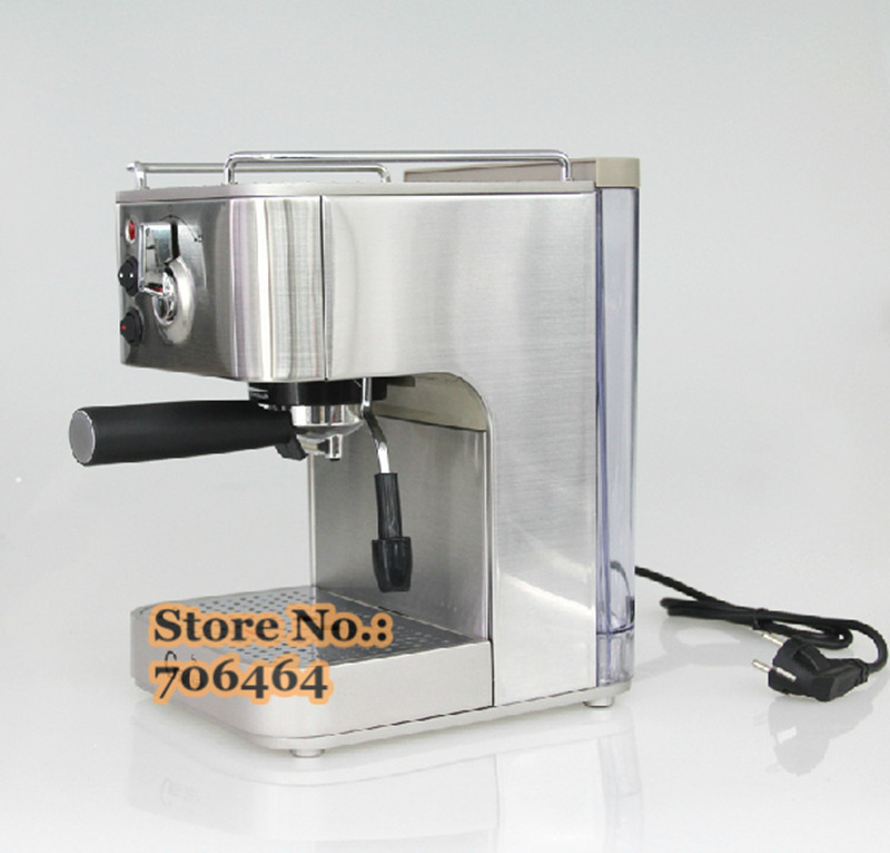 19 bar high quality espresso coffee maker stainless steel. Black Bedroom Furniture Sets. Home Design Ideas